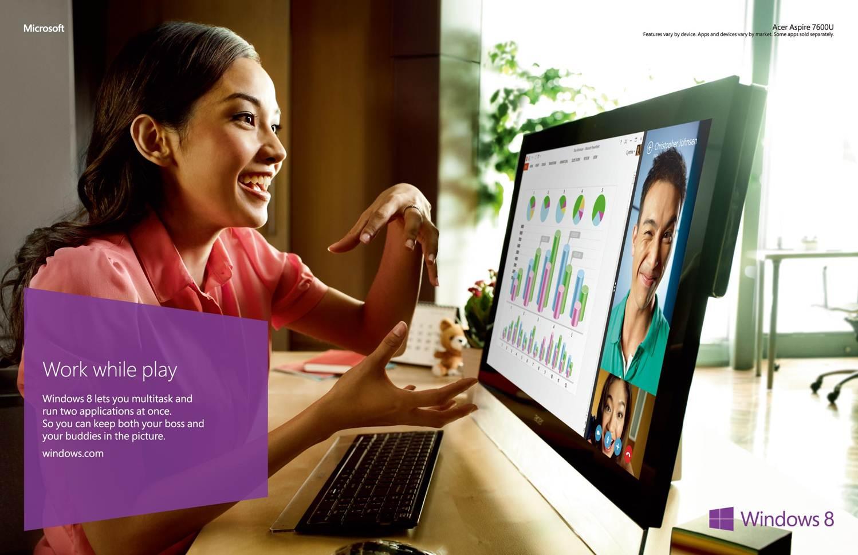 Video Chatting Multitasking
