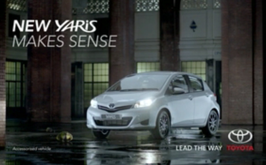 New Yaris TVC Makes Great Deal Of Sense