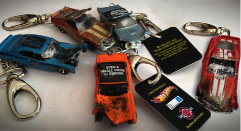 Hot Wheels spreads the 'Don't Drink and Drive' message
