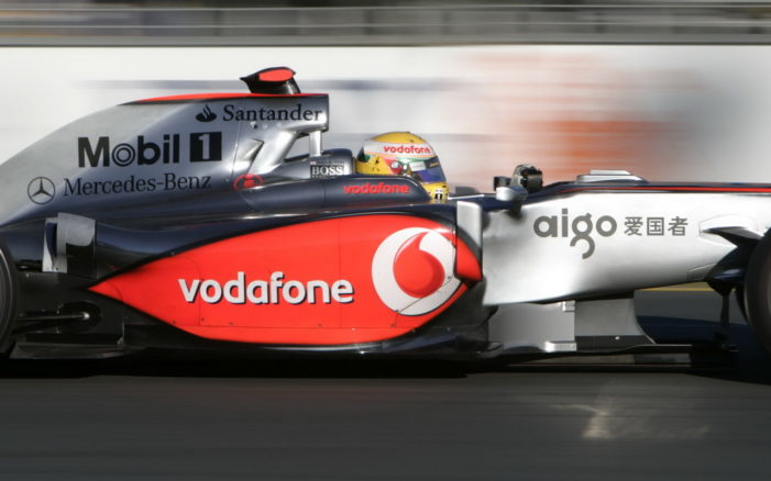 Vodafone ends McLaren F1 sponsorship