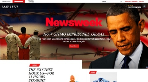 Newsweek relaunches website after dropping print edition