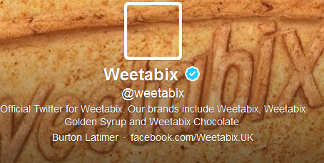 Weetabix unveils Twitter account made from biscuit