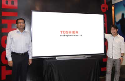 Toshiba To Launch Ultra HD TV Sets