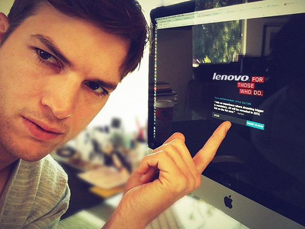 Ashton Kutcher to sign $10m deal to front Lenovo ads
