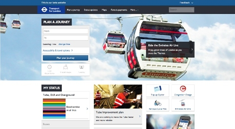 TfL to roll out new website