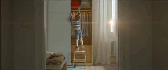 IKEA's Ad Shows How Its Furniture Accommodates Children