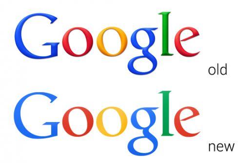 Google's logo goes flat