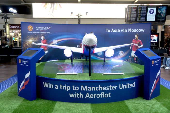 Aeroflot offers Man Utd fans the chance to win all-expenses paid trip to Old Trafford