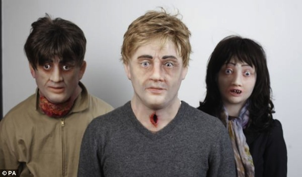 Actors Don Scary Masks For A Halloween-Inspired Anti-Smoking Campaign