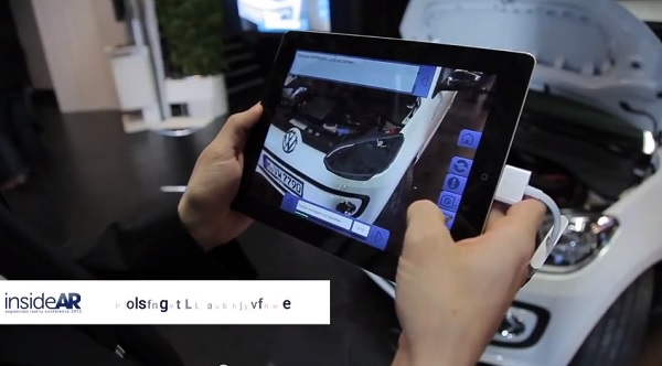 Volkswagen's Augmented-Reality Manual, Teaches Owners To Repair Their Car