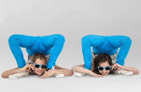 Tesco Mobile celebrates 4G roll out with contortionists