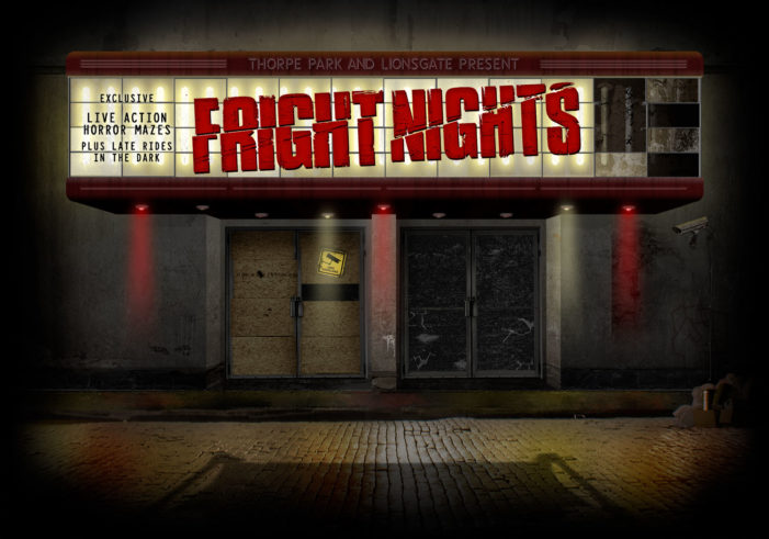 Space Brings Fright Nights to Life for Thorpe Park