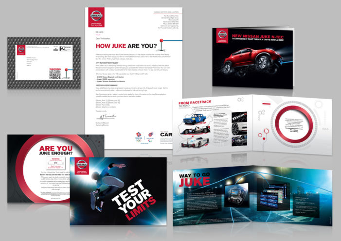 Nissan unveils direct mail campaign for new Juke models