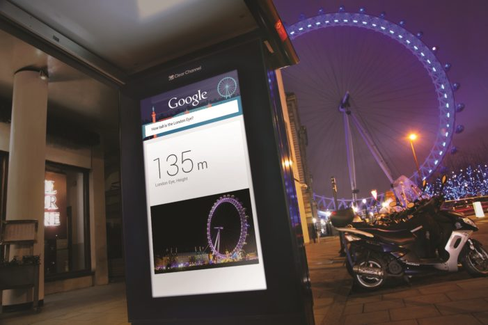 Google takes to the streets of London with 'Google Outside' pilot
