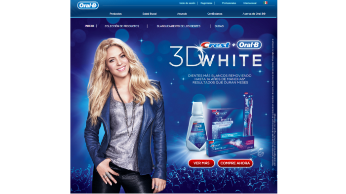Shakira kicks off Smile Story campaign for Crest and Oral-B 3D