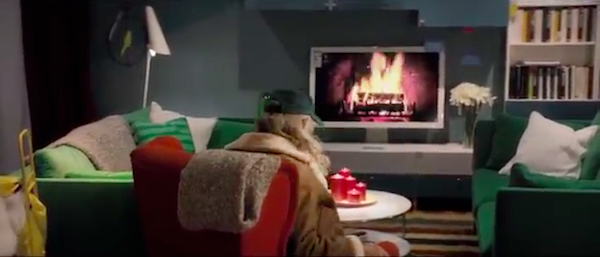Festive Ad Shows Santa Going Undercover While Shopping At IKEA