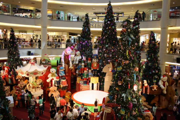 Shopper numbers set to exceed last Christmas