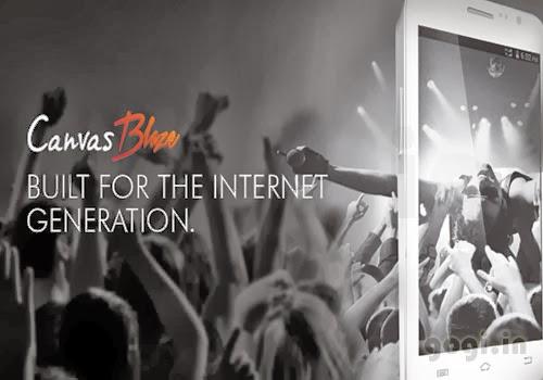 Creativeland Asia unveils Canvas Blaze smartphone creative