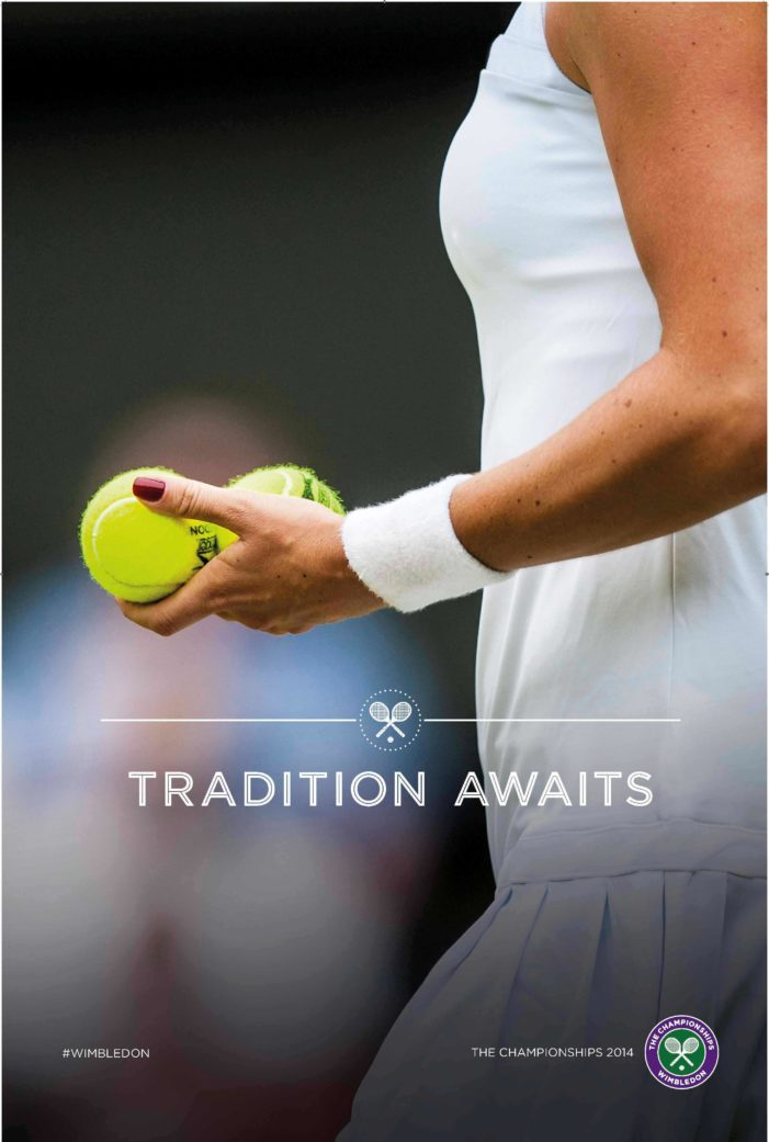 Space Campaign for Wimbledon 2014 Brings Visitors Closer to the Experience