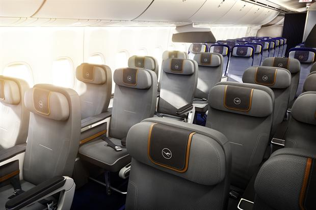 Space delivers world first for Lufthansa