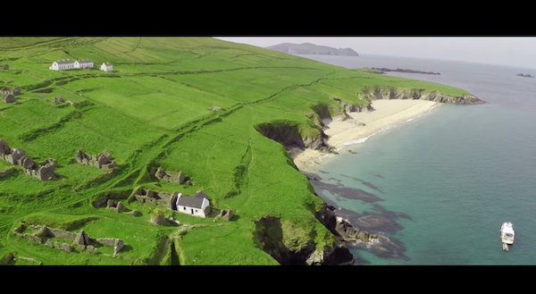 Actor Liam Neeson Voices Ireland's Tourism Ad For St Patrick's Day