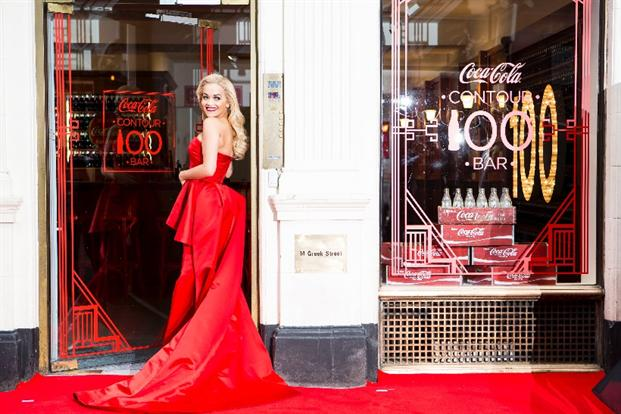 Coca-Cola & Rita Ora open pop-up marking 100 years of the contour bottle