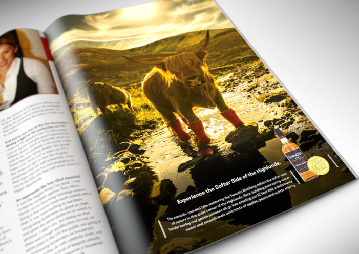 threebrand Shows Tomatin's Softer Side in New Brand Positioning