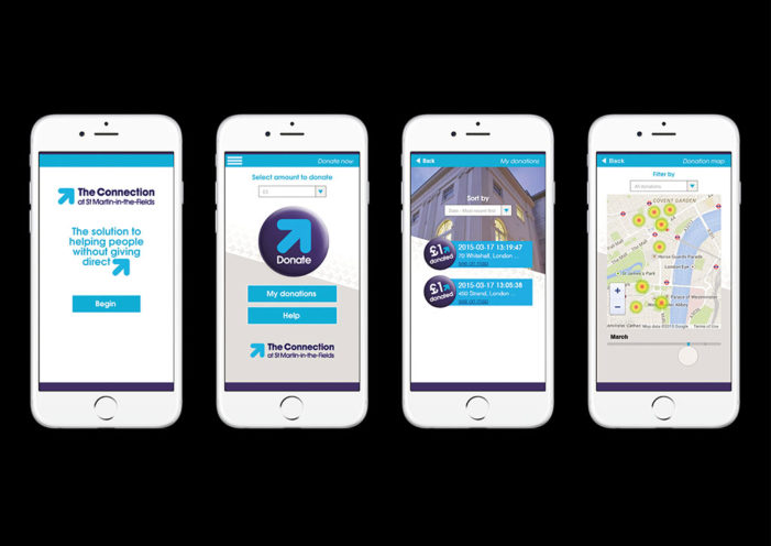 Soul launches 'Donate Locate' app for The Connection