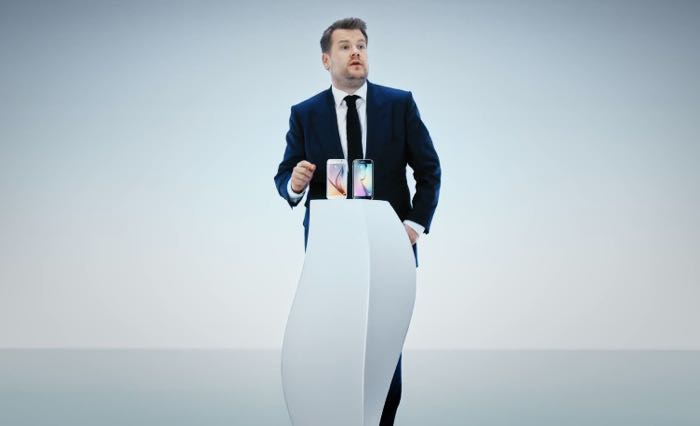 James Corden Reveals His Alter Ego To Launch The New Samsung Galaxy S6