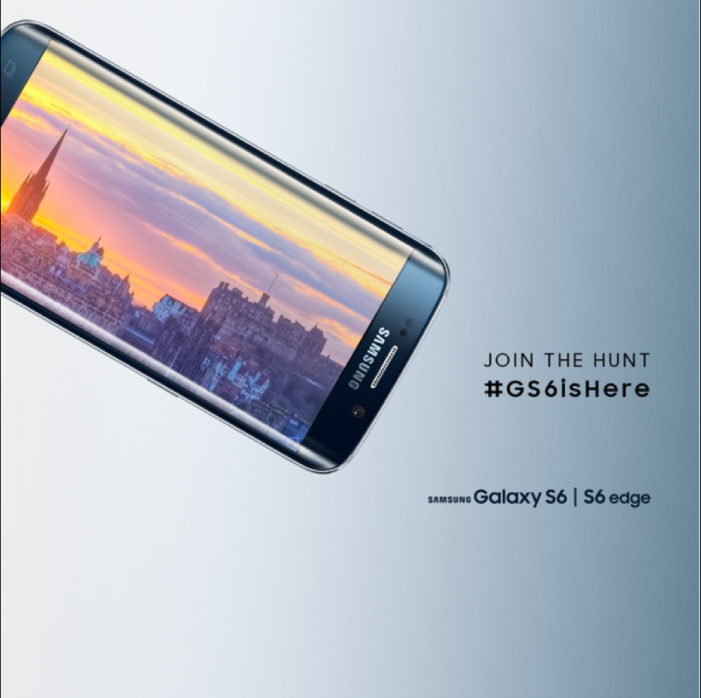 Samsung launches UK's biggest Twitter treasure hunt #GS6IsHere through Cheil UK