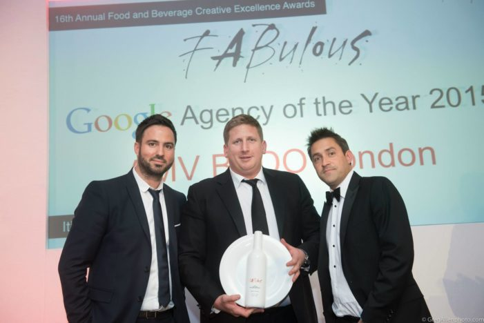 AMV BBDO Retain The Google FAB Agency of The Year Award