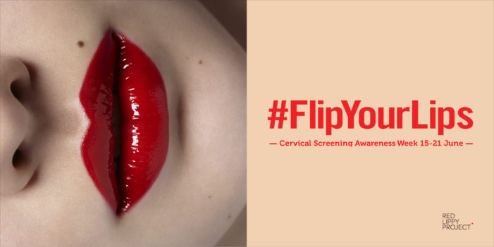 Red Lippy Project & Leo Burnett unveil #FlipYourLips in support of cervical cancer screening