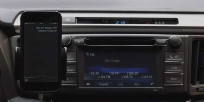 Saatchi Sweden, Toyota and Siri will force you to turn your phone off
