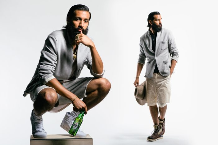 Heineken & Union LA Debut Limited-Edition Sports Coat For #Heineken100 Program