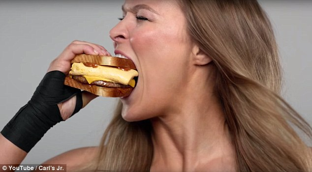 UFC Champion Ronda Rousey Brings a Knockout Breakfast to New Carl's Jr. Ad