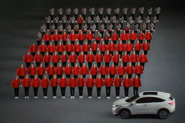 mcgarrybowen London Steps Up for Amazingly Choreographed Honda Ad