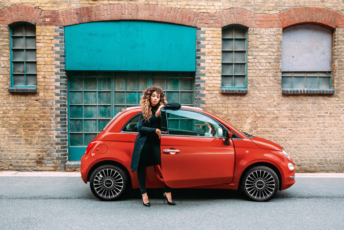 The new FIAT 500 and British singer-songwriter, Ella Eyre debut brand new track