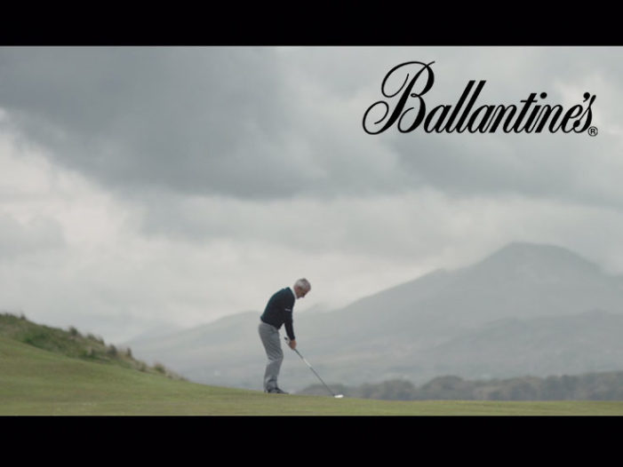 Ballantine's Reveals Golfer Paul McGinley's 'Moment of Truth' in New Film