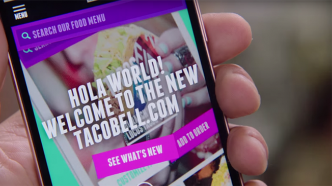 Taco Bell Tries to Reinvent the Fast Food Website With Mobile-Centric Ta.co