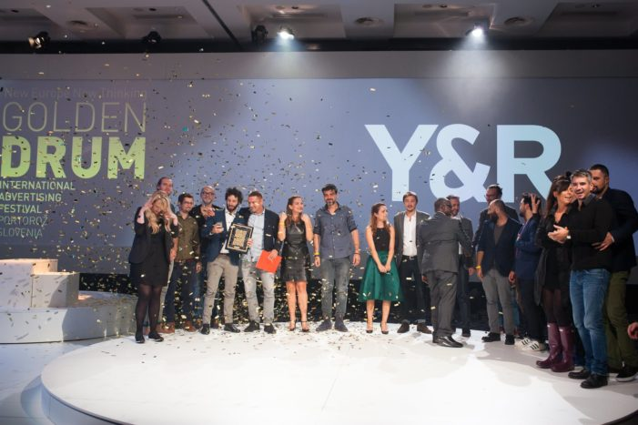 Y&R named Network of the Year at 2015 Golden Drum Awards