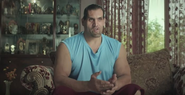 India's viral Ambuja Cement ad breaks down barriers with WWE star The Great Khali