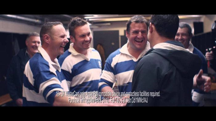 Dan Carter stars in MasterCard UK's new ad by McCann London