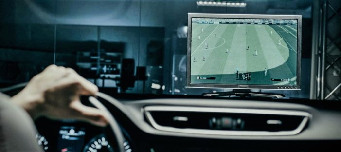TBWA\Helsinki Is Turning a Nissan Qashqai Into a PlayStation Controller