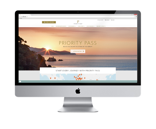 Priority Pass launches global brand refresh by Designate