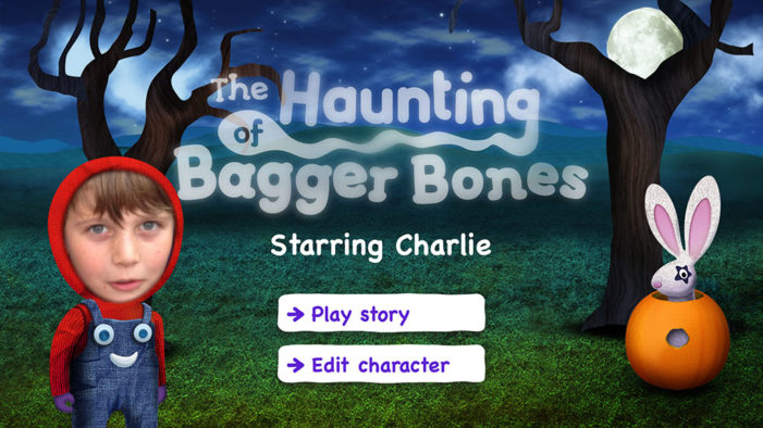 TMW Unlimited launches interactive story app The Haunting of Bagger Bones featuring Mr Benn narrator Ray Brooks