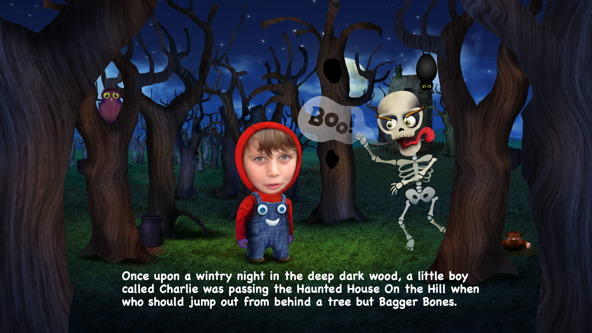 TMW Unlimited launches interactive story app The Haunting of Bagger