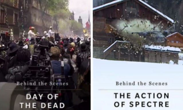 'Spectre' promo hits Snapchat for 24 Hours at midnight on October 25