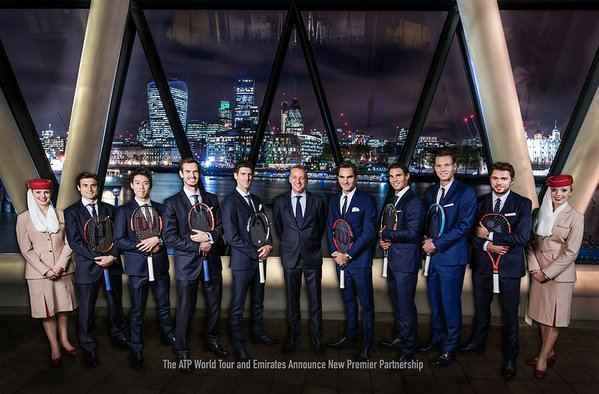 Emirates signs biggest deal in ATP history