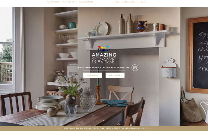 Dulux launches UK's first online interior design service