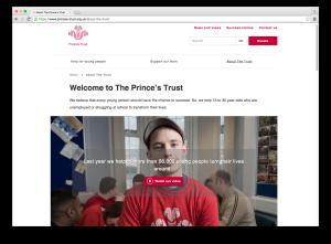 Princes Trust site 2